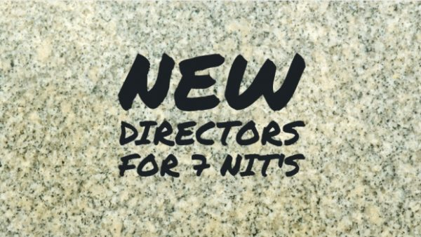 Welcome your New NIT Directors