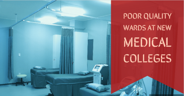 No faculty, zero facilities, half-built classrooms at new medical colleges