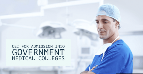 CET mandatory for government medical colleges
