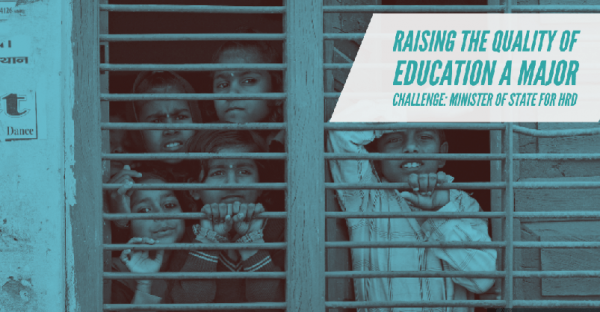 Raising the standard of education: a major challenge