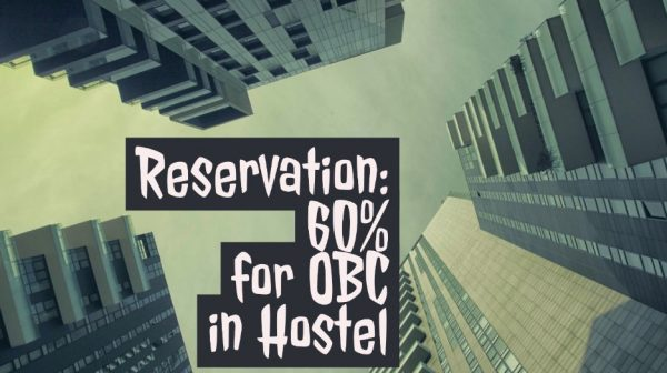 60% hostel reservation for OBC students at IIT Indore
