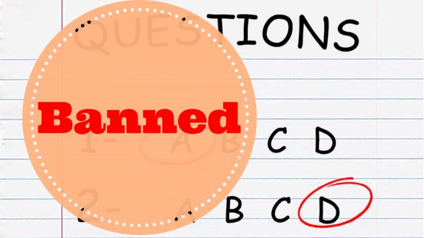 School banned-min