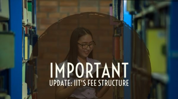 Important Update: IIT's fee structure