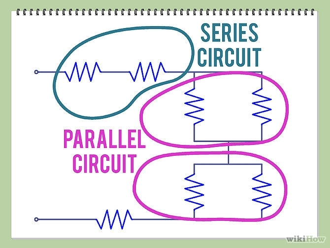 methods to find net resistance in circuits
