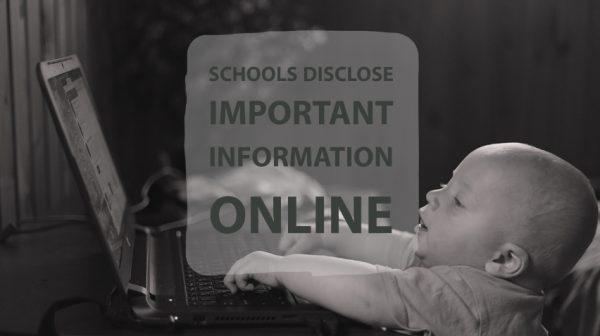 Schools Disclose Important Information Online