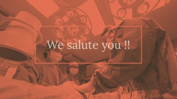 Medical Students and Doctors have made the nation proud again: The nation salutes you