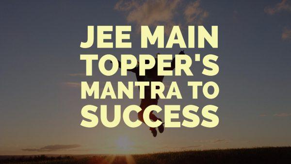 Success Key Of JEE Topper