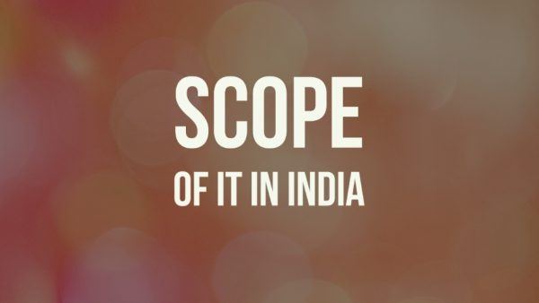 Scope of IT Engineering in India