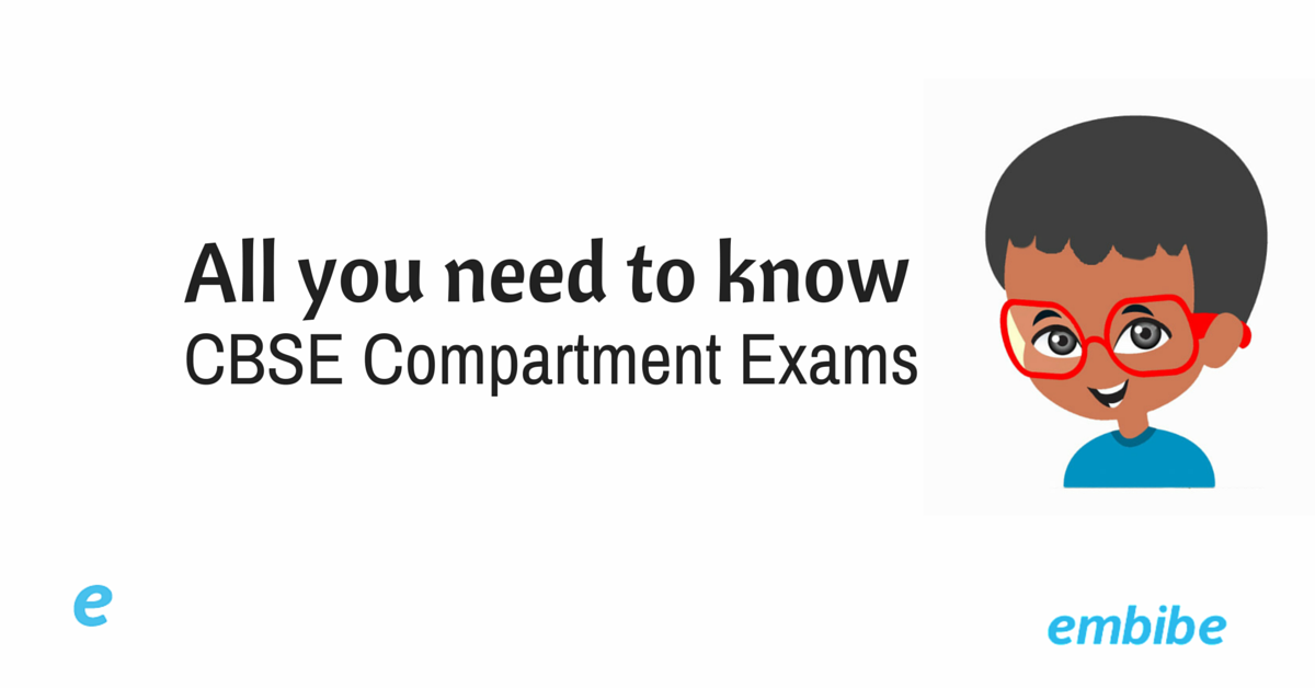Procedure for Compartment Exams CBSE 2016