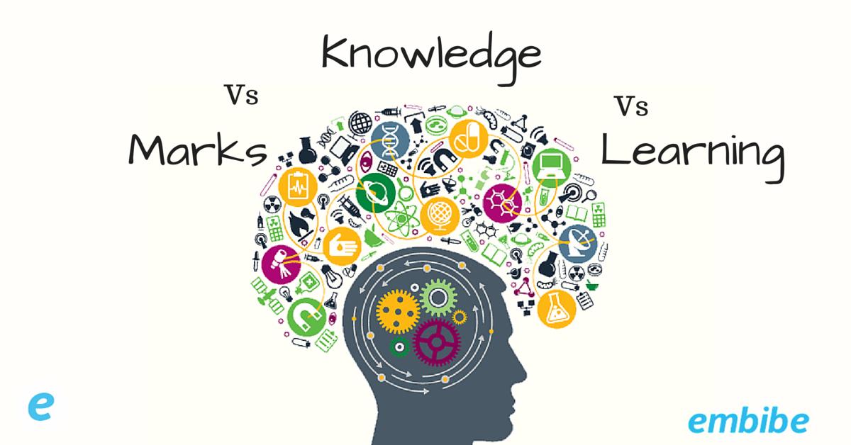 Marks vs Knowledge vs Learning