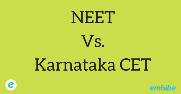 NEET vs Karnataka CET Exams: Important Points