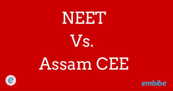 NEET vs Assam Medical Entrance