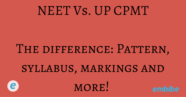 What is the Difference Between UP CMPT vs NEET? Read Here
