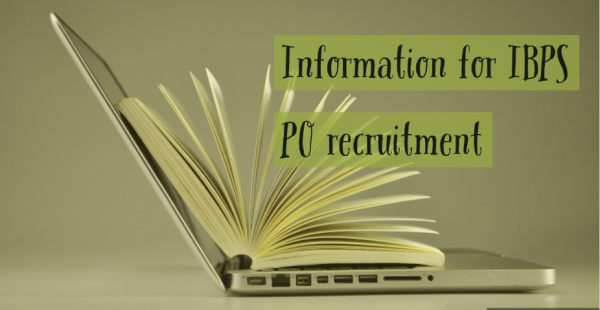 Information for IBPS Recruitment