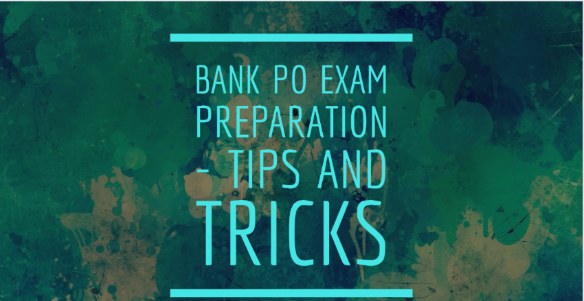 Bank PO tips and tricks