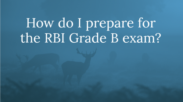 How do I prepare for RBI Grade Exam