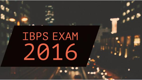 IBPS exam 2016