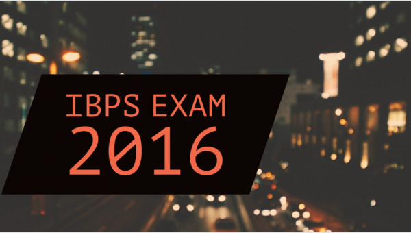 IBPS Clerk Exam 2016