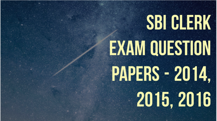 Sbi Associate Clerk 2013 Question Paper Pdf