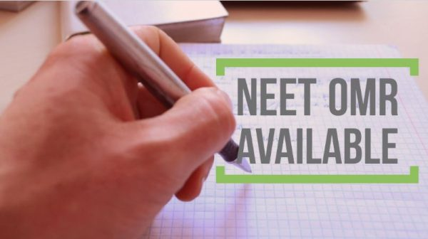 NEET/AIPMT OMR Sheet Available