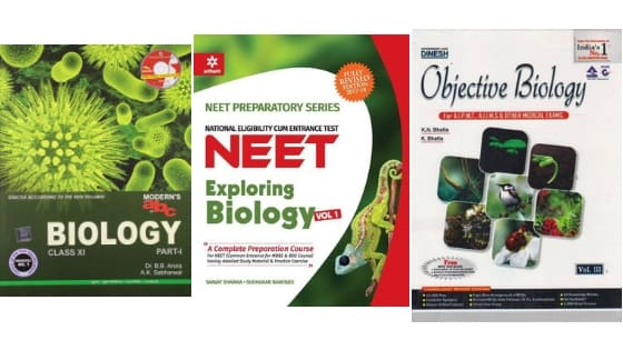 Best Books for AIIMS Biology 2019