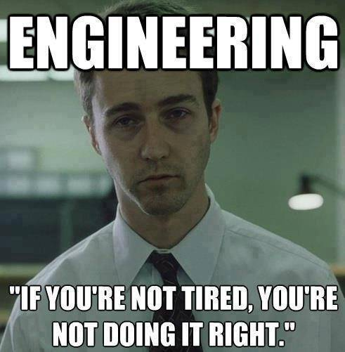 5 signs you re an engineering student