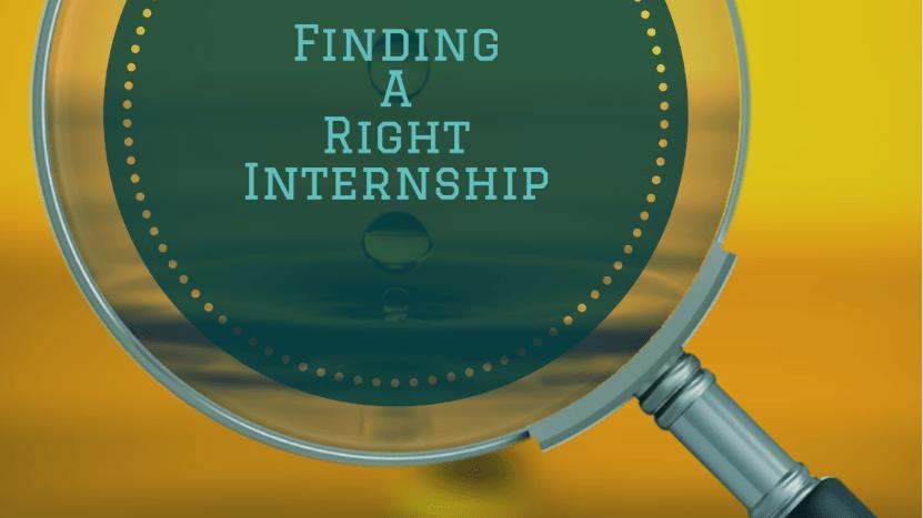 top 3 strategies for finding an internship