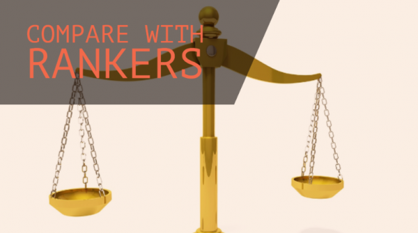 Find out what rankers are doing differently: Compare your score with rankers