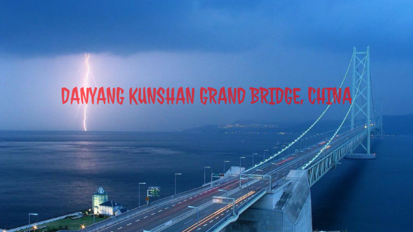 Danyang Kunshan Grand Bridge, China