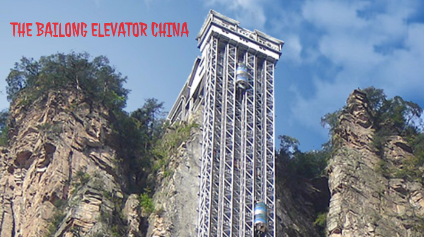 The Bailong Elevator (Zhangjiajie, China)