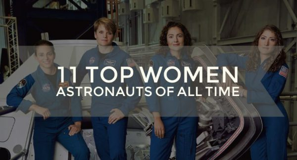 Top11 Women Astronauts Of All Time
