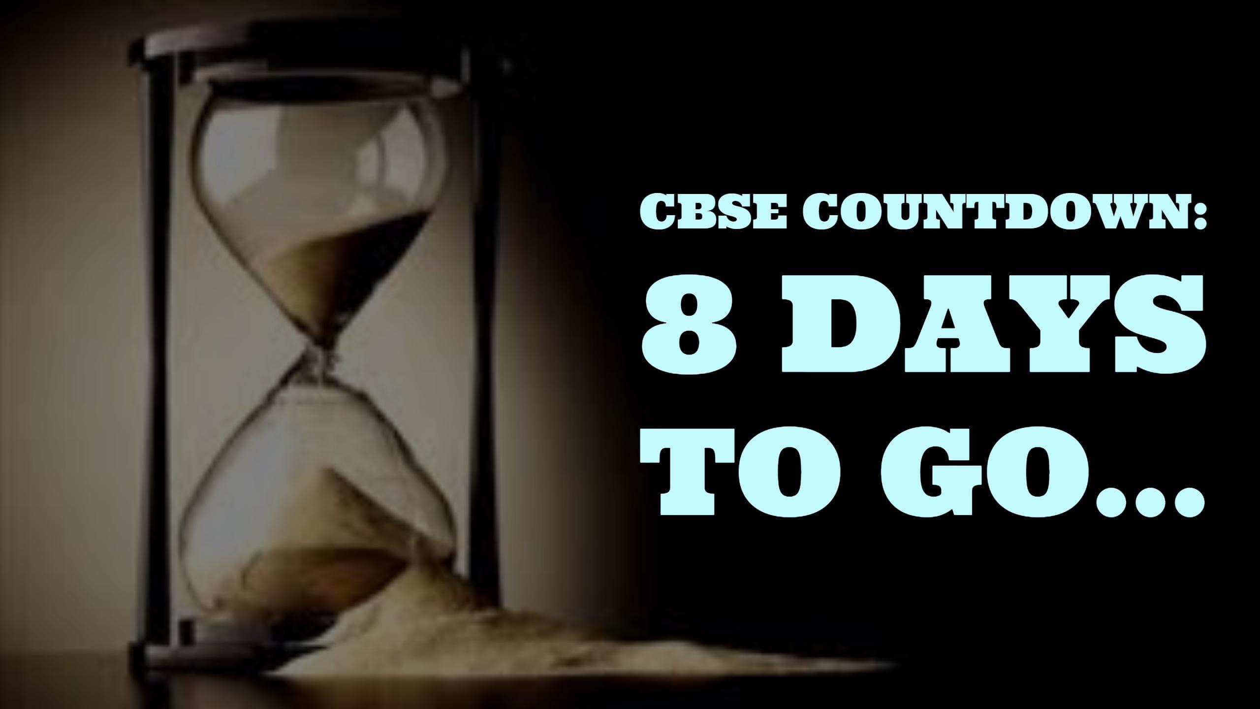 CBSE-countdown