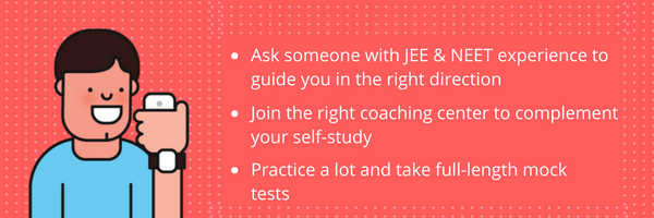 Top 3 Things You Need For JEE & NEET Preparation