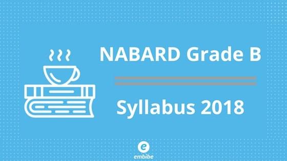 NABARD Grade B Syllabus