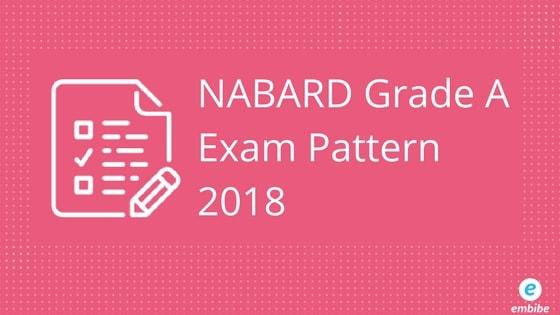 NABARD Grade A Exam Pattern 2018