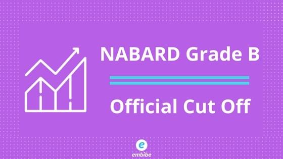 NABARD Grade B Cut Off