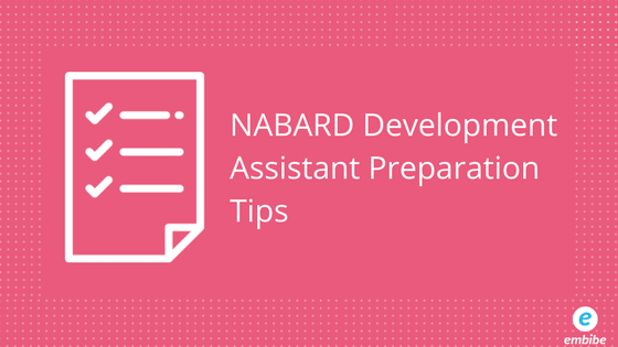 NABARD Development Assistant Preparation Tips