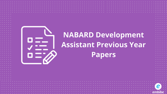 NABARD Development Assistant Previous Year Papers