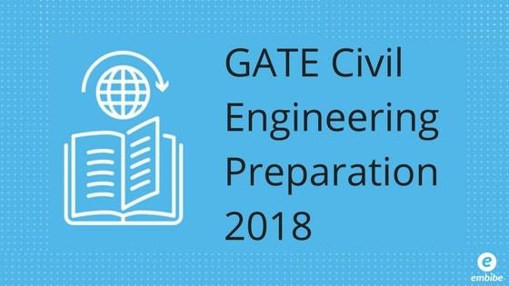 GATE Civil Engineering Preparation 2018