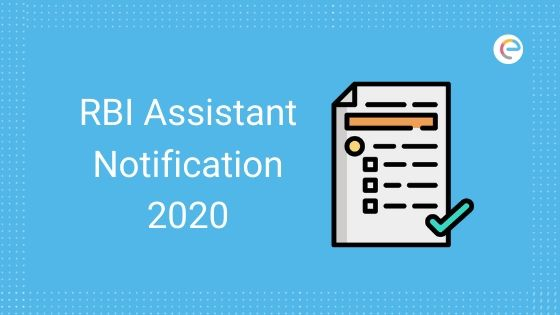RBI Assistant Notification 2020