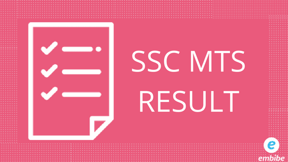 SSC MTS Result DECLARED | Check Out SSC MTS Paper II Final Result @ ssc.nic.in