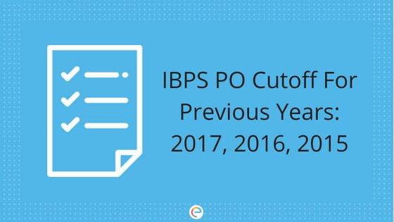 IBPS PO Cutoff 2018