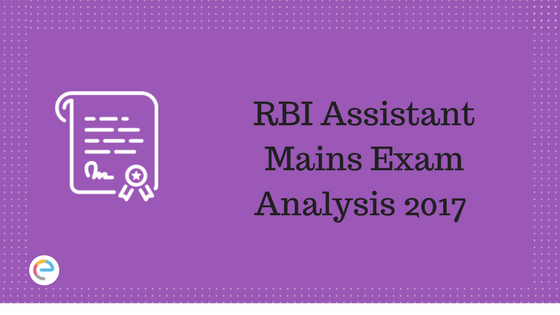RBI Assistant Mains Exam Analysis | Get detailed RBI Assistant 20th Dec Paper Analysis
