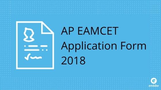 AP EAMCET Application Form 2018