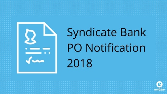 syndicate bank recruitment 2015 po