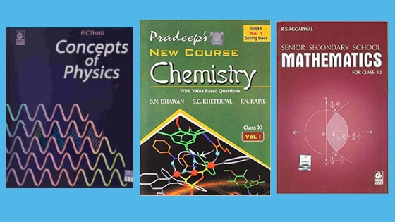 Best Reference books for Class 12 CBSE – Maths, Physics, Chemistry