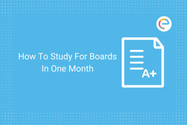 how to study for boards in one month