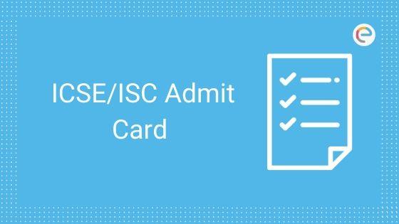 icse admit card