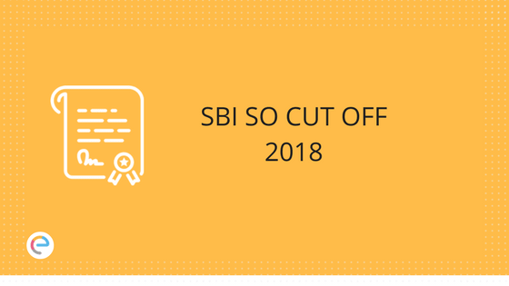 SBI Specialist Officer Cut Off
