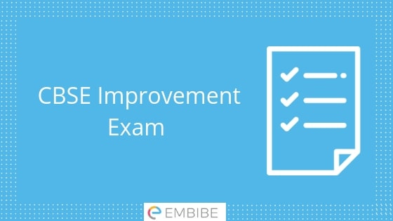 CBSE Improvement Exam